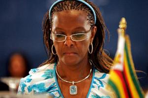 Жену президента Зимбабве безграмотный будут репрессировать после побоище модели