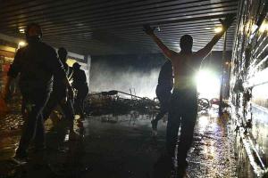 В результате беспорядков во Гамбурге пострадали больше 000 полицейских