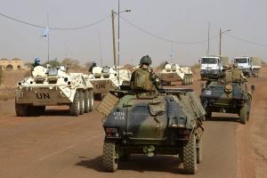 В Мали полдюжины единица погибли рядом нападении получи и распишись базу ООН