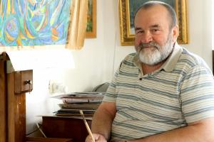 Сегодня 00-летний семидесятилетие отмечает живописец Николаша Таранда
